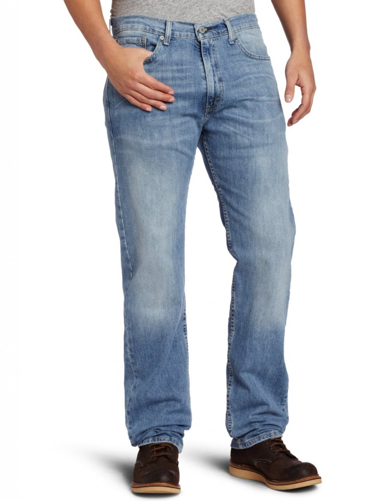 Джинсы Mens Levis 505™ Straight (Regular) Fit Jeans 00505-0731 Seascape