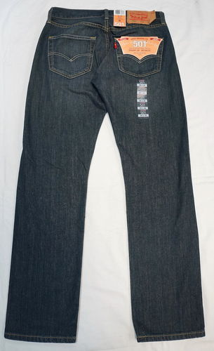 Мужские джинсы Levi's 501 Original Fit 00501-1407 Drainpipe