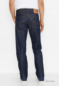 Levis 501® Original Shrink -To- Fit Jeans Indigo Blue 00501-0000