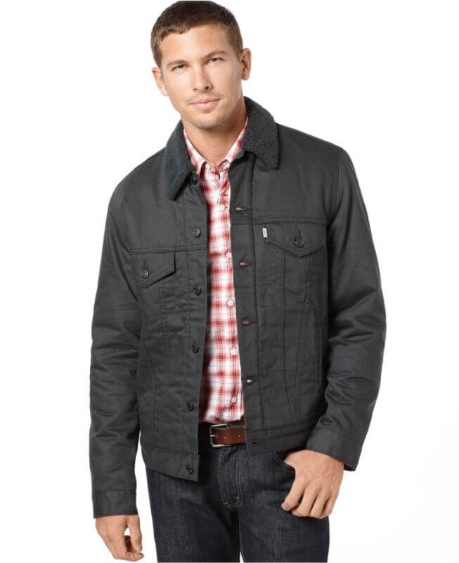 Мужская Куртка Levi's 70598-0008 Men Sherpa Trucker Jacket