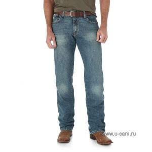 Мужские джинсы Wrangler Retro Slim Fit Straight Leg Jean