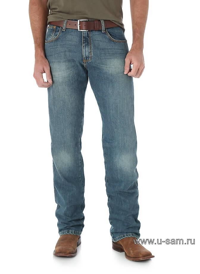 Мужские джинсы Wrangler Retro® Slim Fit Straight Leg Jean - в 5 цветах