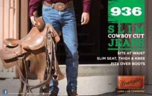 на заказ Джинсы Wrangler серии Cowboy Cut®