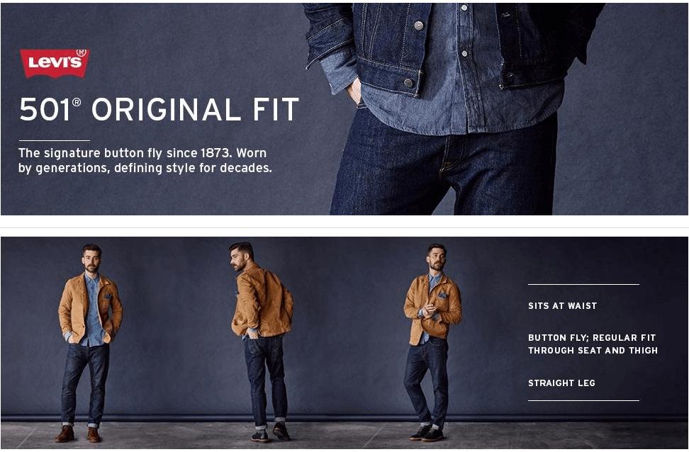 джинсы Levi's 501® Made In USA
