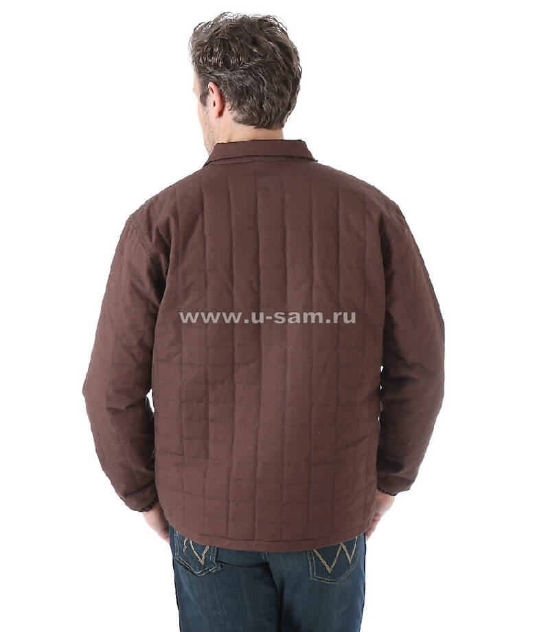 Wrangler® Chore Jacket Dark Brown MJK015B