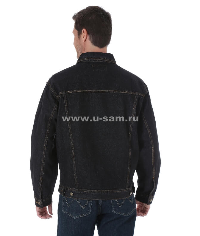 Wrangler Rugged Wear® Denim Jacket Black RJK30BL