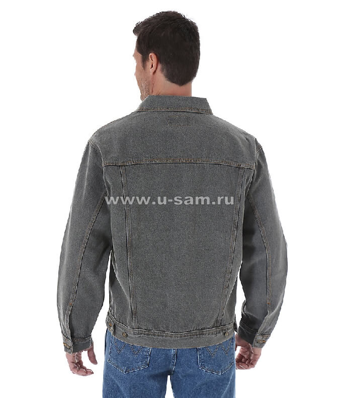 Wrangler Rugged Wear® Denim Jacket Charcoal RJK30CH