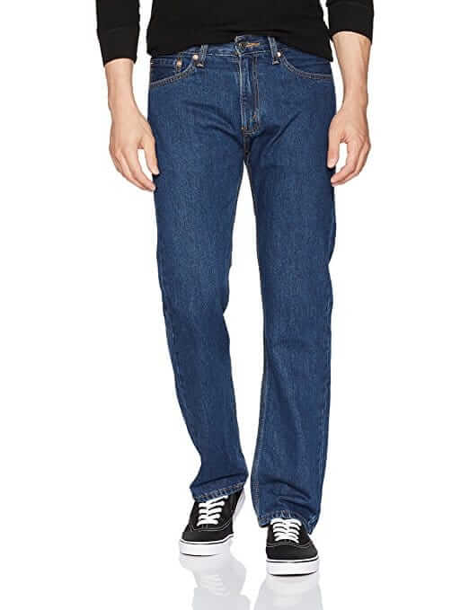 Мужские джинсы Signature by Levi Strauss & Co Regular Fit Dark Stonewash