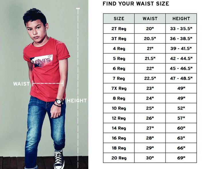 Джинсы Levi's 510™ Skinny Fit Jeans для мальчиков
