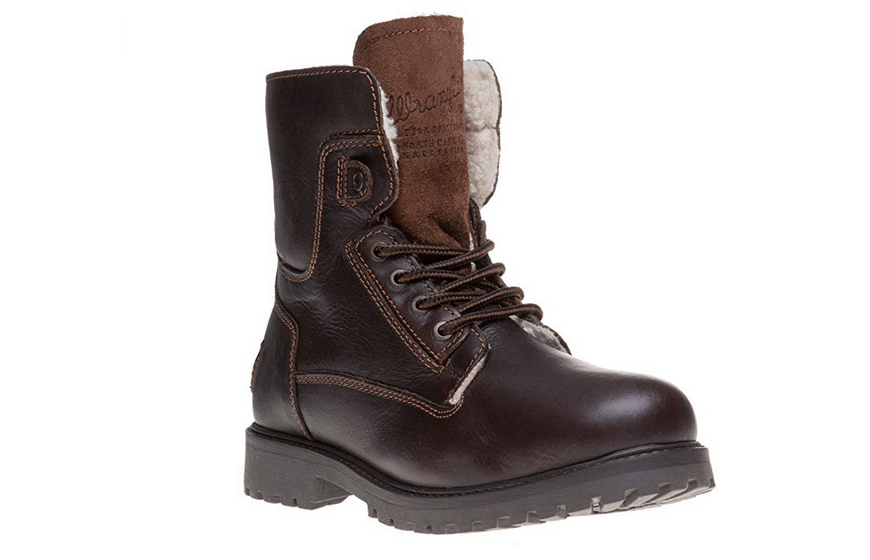 Ботинки Wrangler Aviator Mens Boots Dark Brown