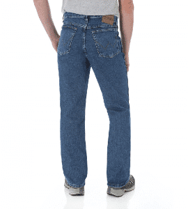 Мужские джинсы Wrangler 35001AI Classic Relaxed Fit Heavyweight Cotton Jeans