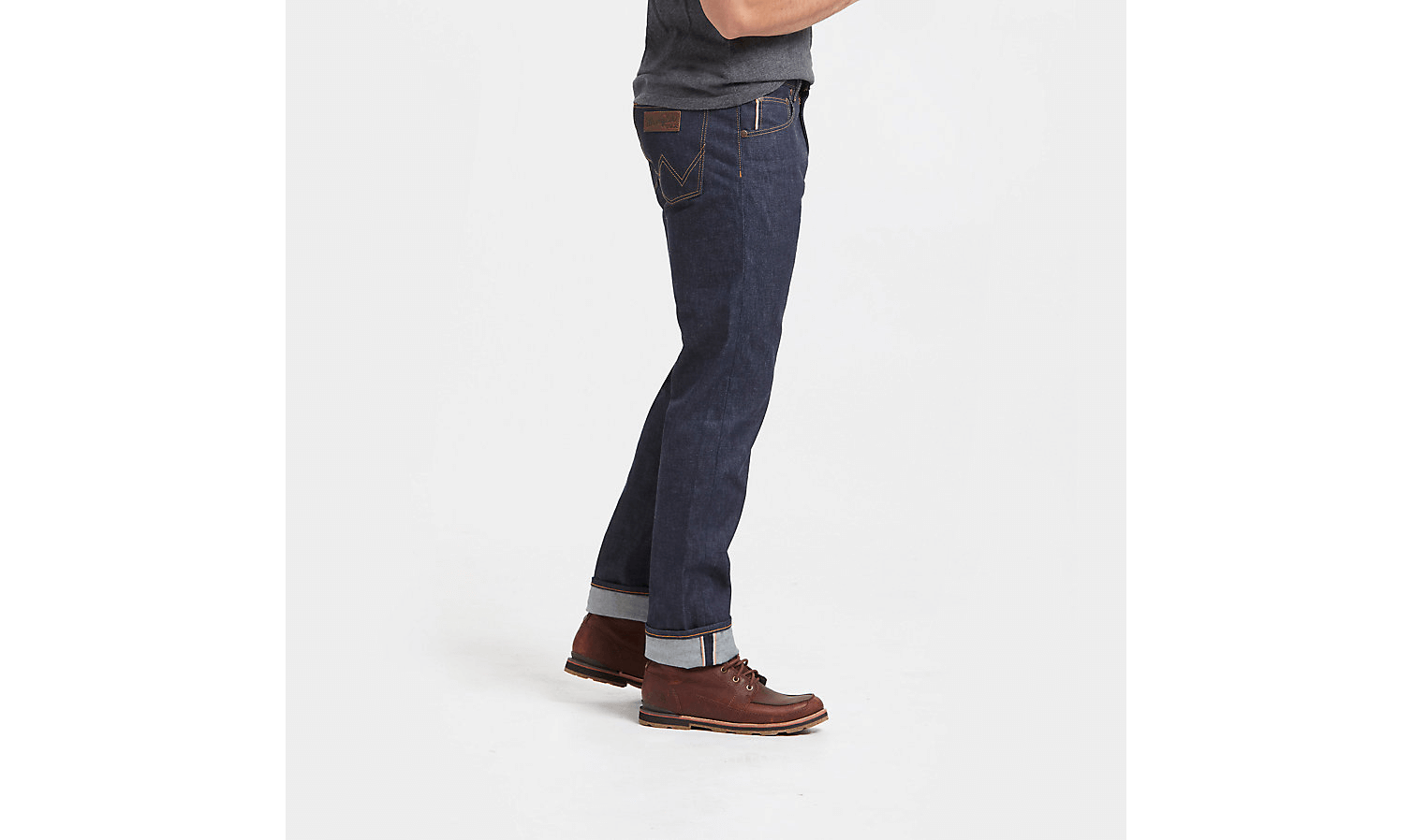 Wrangler® 27406 Men's Rigid Slim Fit Selvedge Jean