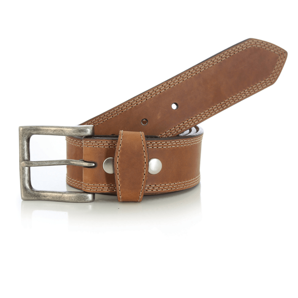 Ремень Wrangler Belt with Triple Needle Stitch detail Tan RWB602T