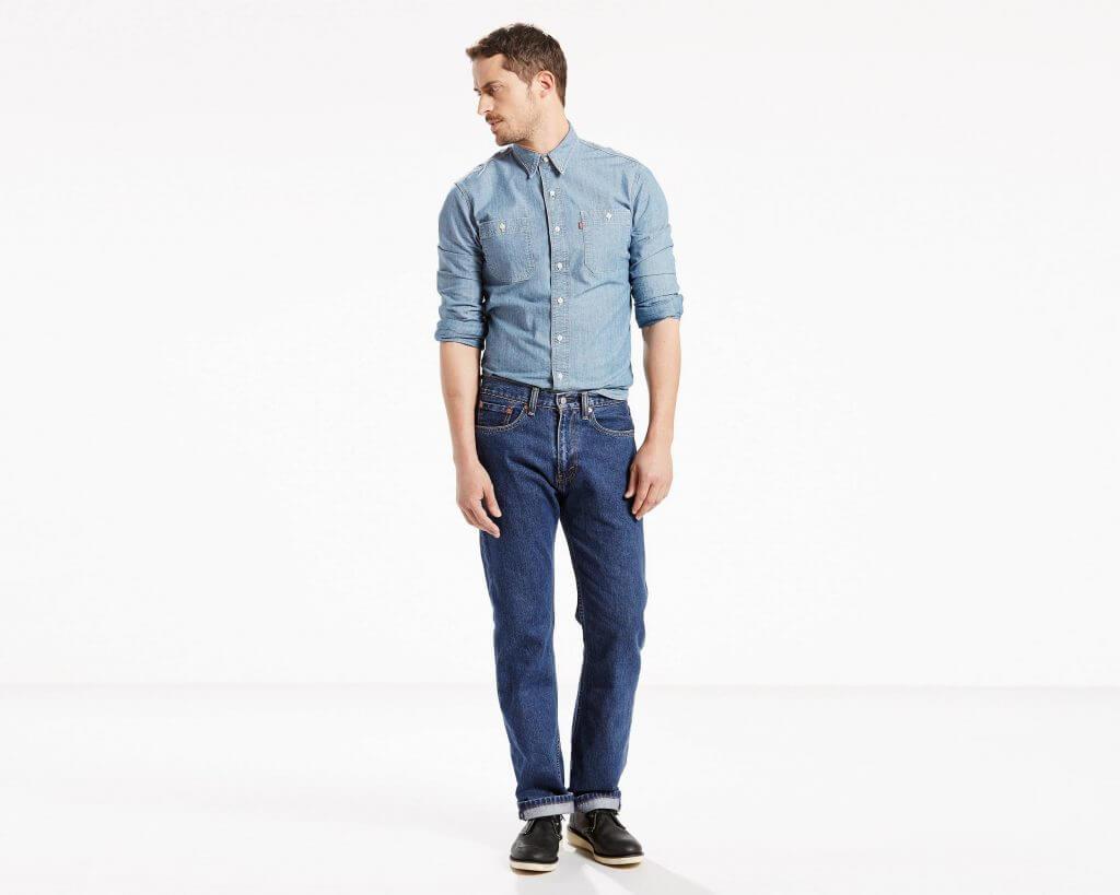 на заказ джинсы Levi's 505™ Regular Fit - цветов